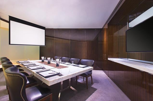 4 22 - - 12 - Sheraton Mirage Resort & Spa s five Boardrooms are designed to encourage collaboration with settings for 12 to 16 people.