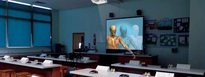INSPIRE YOUR STUDENTS Teaching in 3D is the latest innovation in education technology, opening up new avenues