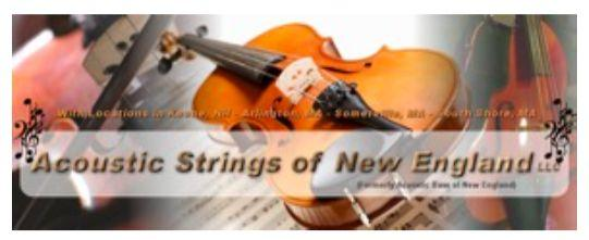 Acoustic Strings of New England ASNE specializes in string instruments. www.acousticstrings.