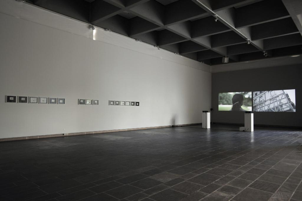 Installation view, At the same