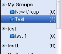 My groups Groups can be created to collate together references on a particular topic.