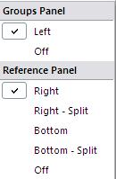 Understanding the Layout The EndNote Library screen is split into three panels: From left to right, these are: Groups panel: Subsets (or folders) of references, online search, find full-text options