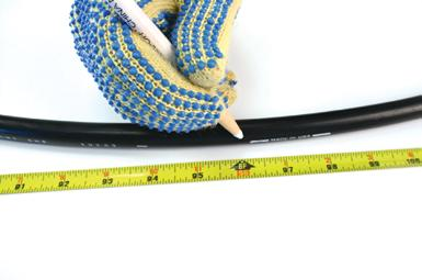 Procedure 1. Determine the location on the cable where the splice point is to be located.