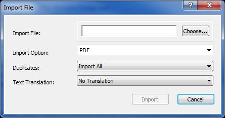 Importing Sources into EndNote Option 1: Import PDFs If you already have PDFs of articles saved to your computer, you can add them to your EndNote library.