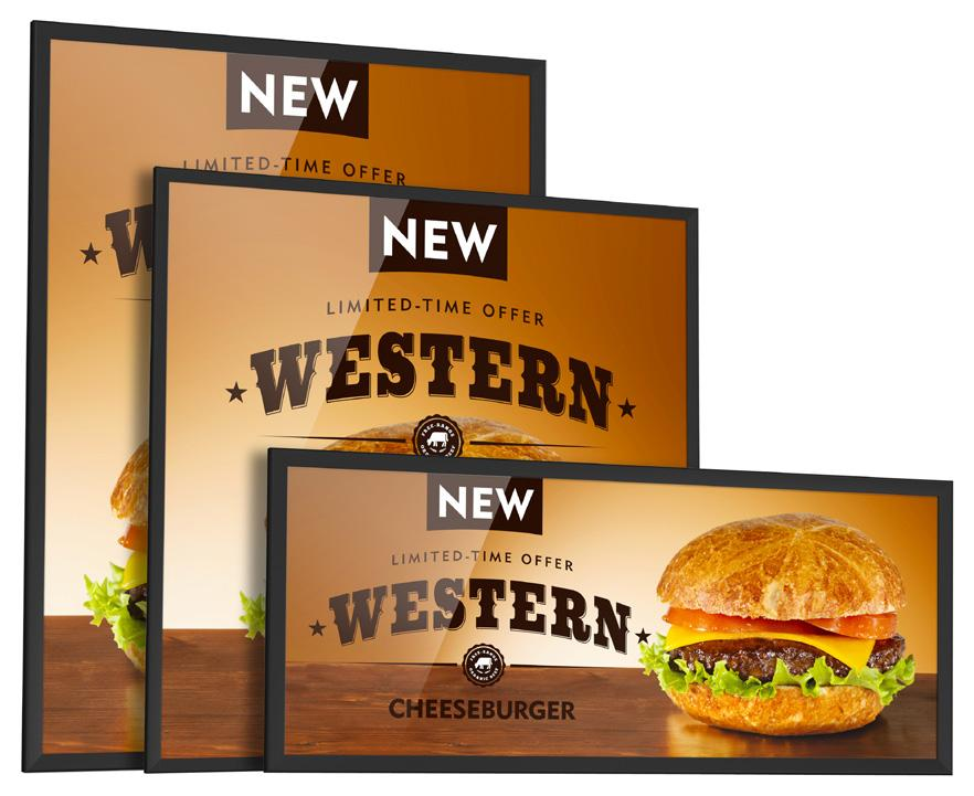 Introducing the EvenGlow Our new edge-lit LED lightboxes deliver the impact you re looking for without compromise making your graphics and your products look their absolute best.