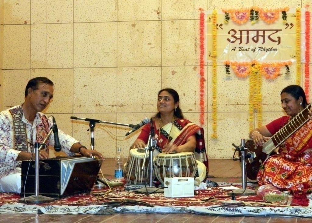 6:15 Sangeeta Agnihotri Sangeeta Agnihotri, is one of the well known female Tabla player in India. She has given her solo performances all over India. Many such programmes were given in Baroda too.