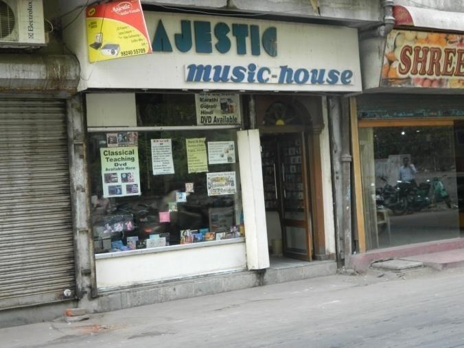 11:1:2 Majestic Music House It is a very well known and a leading shop established by Late Shri Shamsundar Bhagwat in the year 1970, located near GPO opp. Suryanarayan Temple, Raopura.