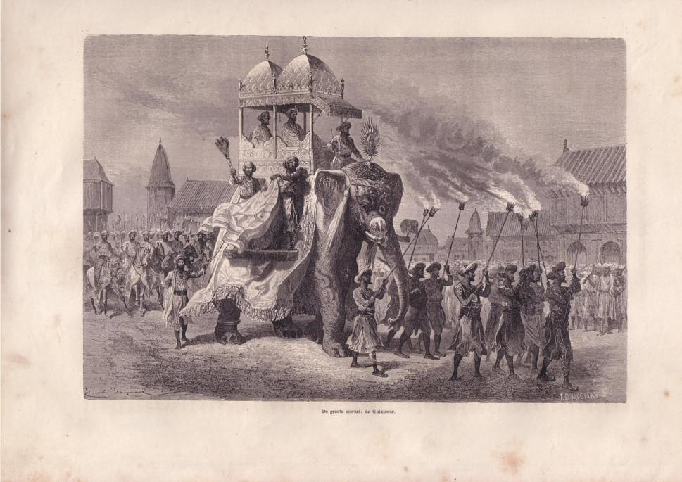 Photo of procession 1872