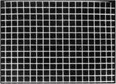 CROSSHATCH - The CROSSHATCH pattern produces 21 vertical and 15 horizontal lines that form squares on the screen.