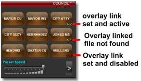 MAYOR, PASTOR, DRUMS, PIANO, etc. Now that you ve named and saved your first preset, follow the same procedure to name and save up to nine (9) presets per camera.