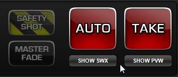To name and save a PRESET to a QUICKSHOT button select the PTZ camera you want to use for the shot, then use the joystick to position the camera where you wish.