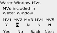 I i If FloWatch is enabled, the controller will request incremental flow allowed for the MV Water Window.