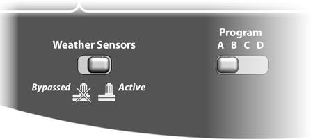 Local Weather Sensors ESP-LXD can also accept input from a single weather sensor wired directly in to the controller instead of to the 2-Wire path.