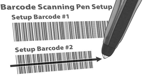 To set up other brands of barcode scanning pens, see the manufacturer s setup instructions. Locate the Programming Guide that came with the ESP-LXD controller.