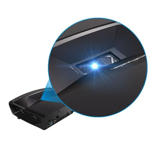 High Brightness Packed with 5,200 ANSI Lumens, this projector is guaranteed to produce ultra-high brightness