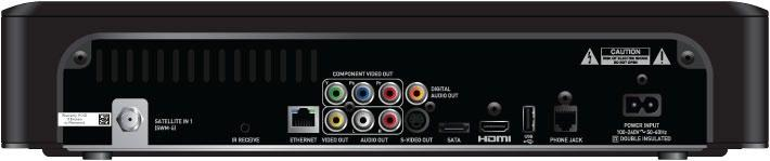 APPENDIX 3: RECEIVER FRONT AND BACK PANELS Back Panel Examples 1 2 3 5 6 7 8 9 10 11 12 13 DIRECTV HD DVR RECEIVER USER GUIDE