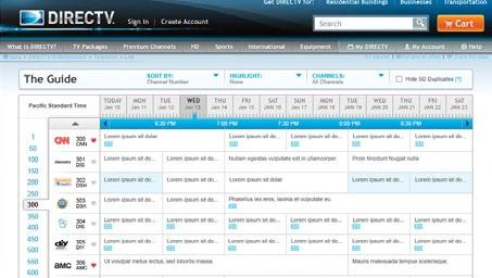 com/ tvlistings to see an online version of the program guide. Select a show and click Record.