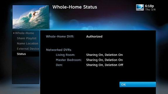 DIRECTV HD DVR RECEIVER USER GUIDE DIRECTV WHOLE-HOME DVR SERVICE Share Playlist An HD DVR has the option to share its Playlist with other receivers.