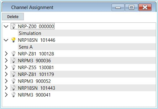 12 Channel Assignment Channel Assignment Power Viewer Plus maintains a list of alias names that can be assigned to sensors.