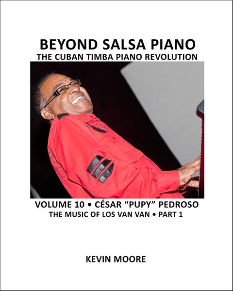 Beyond Salsa Piano, Volume 9, our final volume on Iván Melón Lewis, is the longest of the series and includes his unusually sophisticated approach to cuerpos as well as tumbaos.