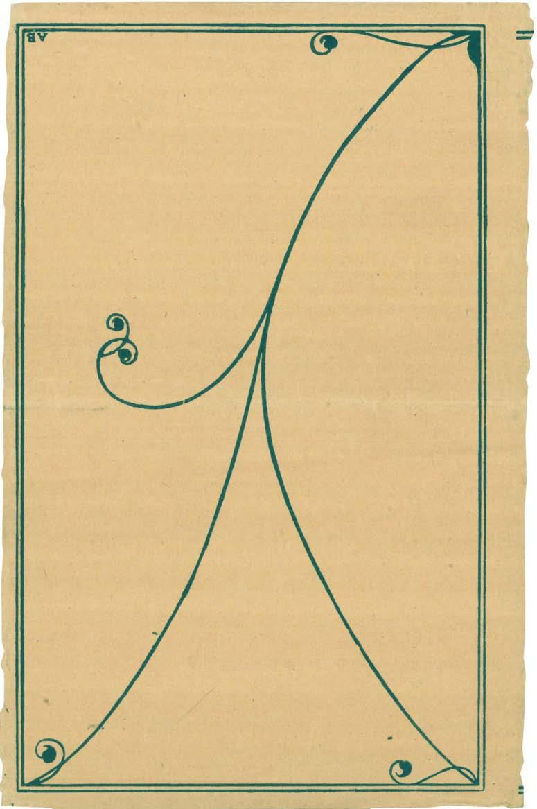 Given the pattern on the outside of the paper (see Figure 8), the antiquarian booksellers community in the UK helped us to identify the book in question as Runes of Woman (SHARP [as MACLEOD], 1915),