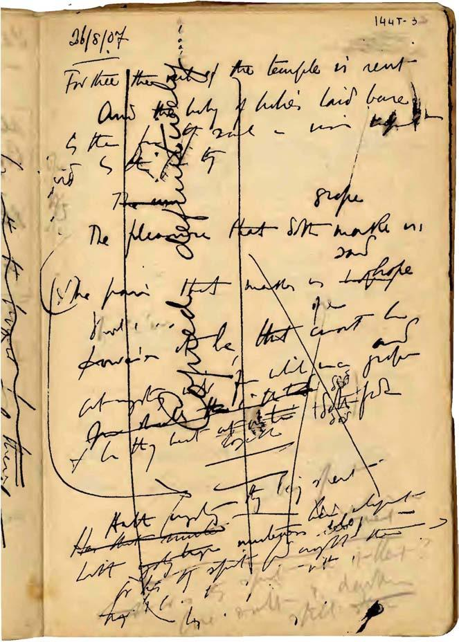 version, was written on grid paper in black ink, bearing the signature Alexander Search and the date August 26 th 1907 ; on the upper left corner, there is an encircled 28 (in blue pen), seemingly