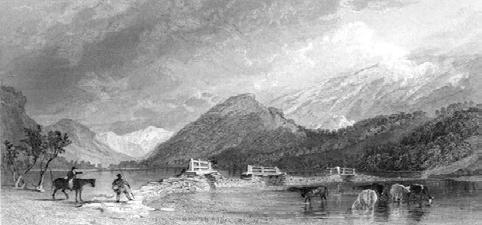 DOI: 10.17456/SIMPLE-54 Fig. 2. Thirlmere Bridge Looking North, Cumberland by Thomas Allom play they attacked the proposal primarily on aesthetic grounds.