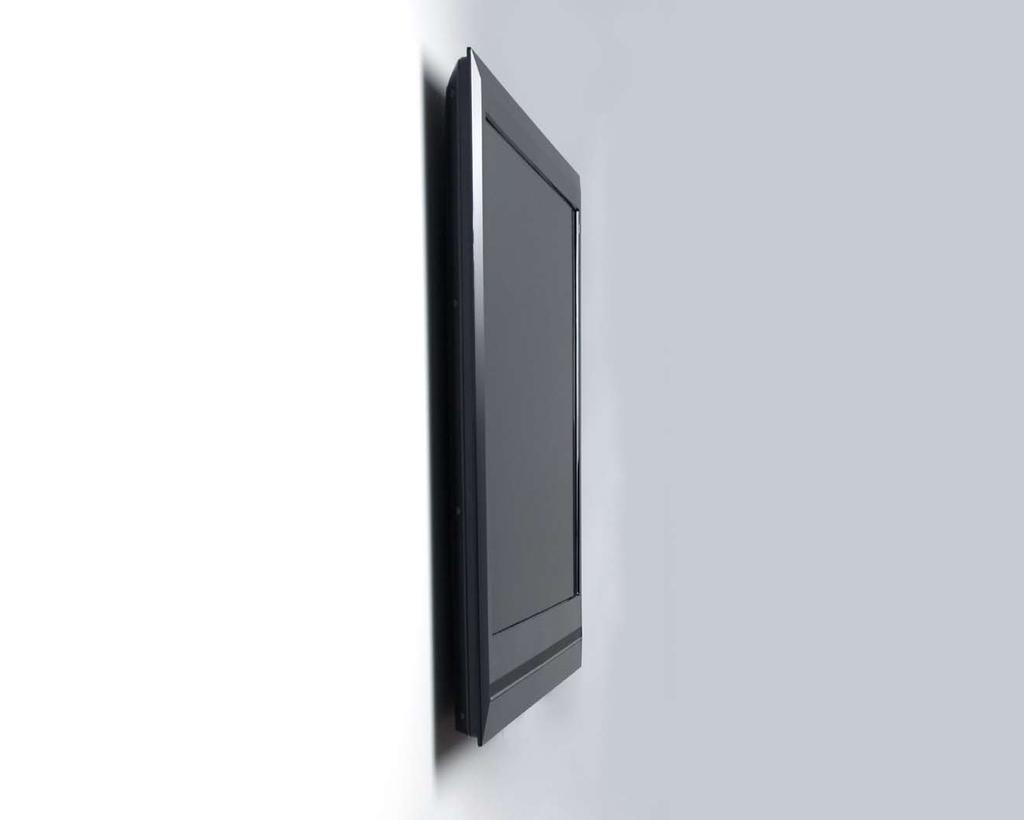 ".4"" Nobody Gets you closer Introducing Slimline the world s thinnest flat panel mounting solution at only 0.4 inches from the wall, only from Peerless."