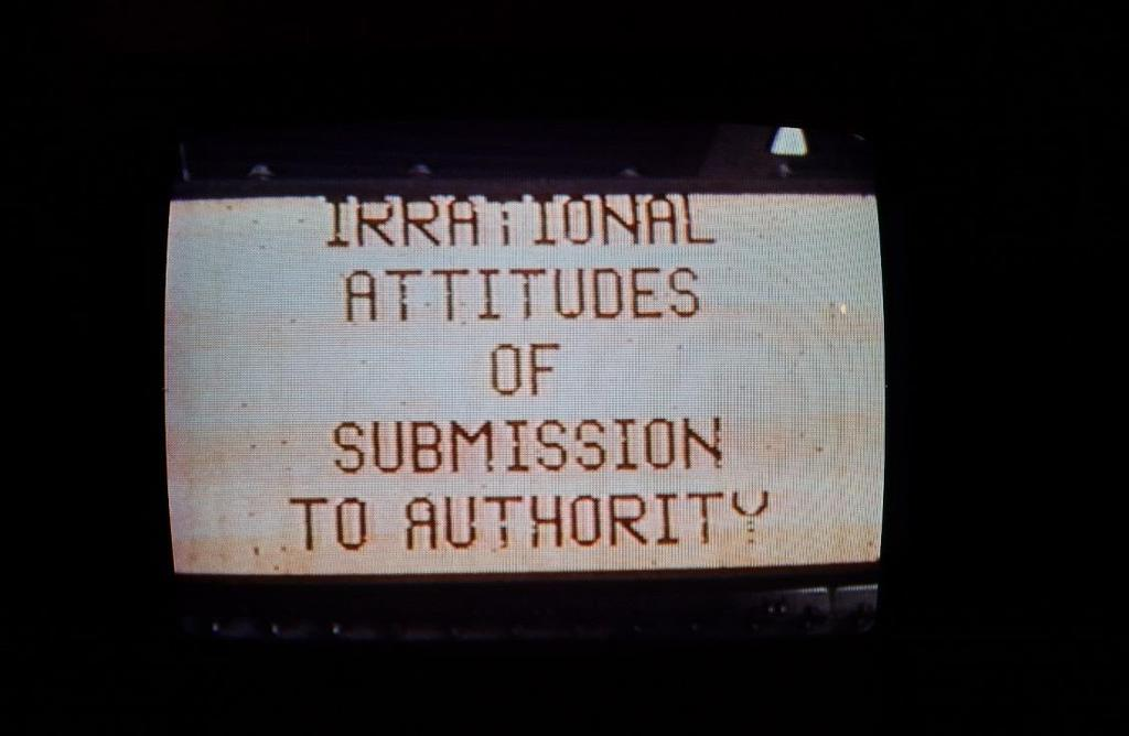 234 Submission to authority, even to the authority of psychoanalytic theory, can be irrational, in the sense that submission is a primate urge, monkey business.