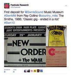 Like the social media for the festival organisers and festivalgoers themselves, we found that social media wasn t the key component for the Music Museum, but it was a useful supplement and offered an