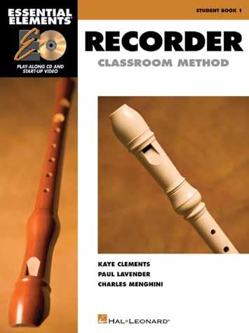 Hal Leonard Presents The new ESSENTIAL ELEMENTS CLASSROOM METHOD FOR RECORDER is designed for today s classroom, including easyto-use technology features that enhance the learning experience for any
