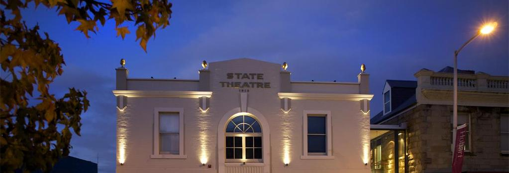 Exclusive Use of a Cinema for a Current Film Screening Private Screenings/Fundraisers About the Cinema The State Cinema was opened in 1913 and, apart from a short period, has operated as a theatre