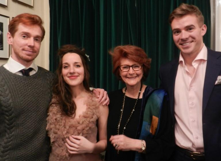 WIGMORE HALL 13 April 2015 Ducasse Trio with Gillian The annual Prize Winners Concert of the Concordia Foundation in association with the Worshipful Company of Musicians took place at the Wigmore