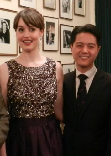 A very special evening in Concordia s calendar and the Prize Winners this year were: Founder s Prize: Bethan Langford soprano Serena Nevill Prize: Ben-San Lau piano Barthel Prize: Ducasse Trio piano,