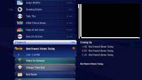 TV Channels - Layout 1 2 3 4 5 6 7 8 1. TIME With the current time, you ll know when your show begins. 2. CURRENT CHANNEL Displays the channel that is playing in Mini TV.