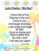 LYRIC POETRY Lyric Poetry Poetry that is written in highly musical language