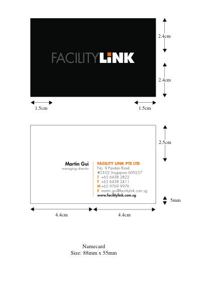 Page 29 of 47 C C1 C1.3 Corporate Design Application Stationery Business Card Business cards are printed double-sided.