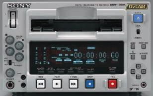 02 MAIN FEATURES Compact Design - Ideal for Desktop Editing Style The DSR-1500A is half-rack size, 3U high.