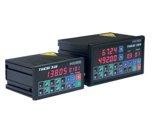 Position controllers Models THESI 310 THESI 320 Without prior notice, the