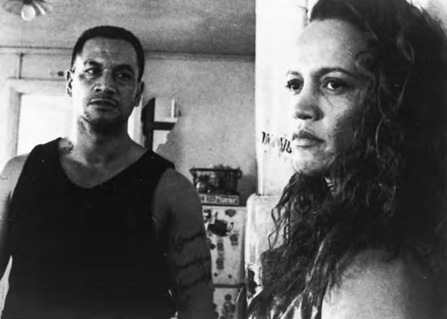 2 12a. Once Were Warriors (New Zealand, 1994), with Temuera Morrison and Rena Owen, directed by Lee Tamahori.