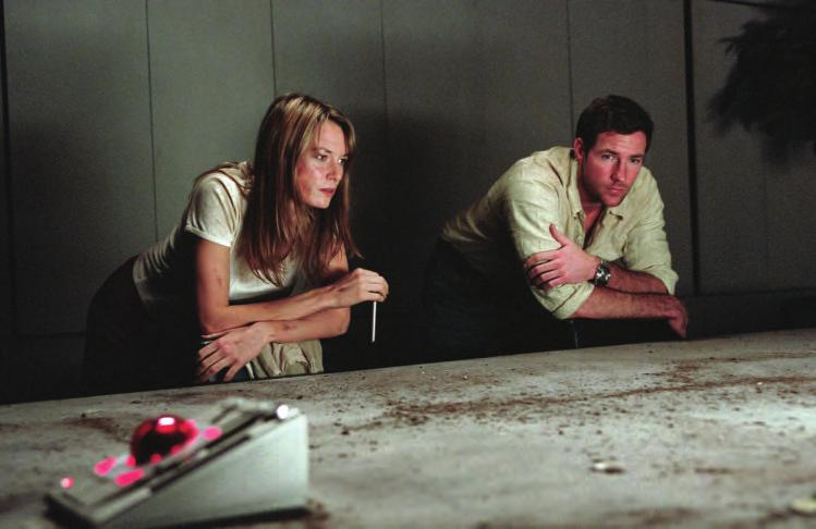 2 16a. A Sound of Thunder (U.S.A., 2005), with Catherine McCormack and Edward Burns, directed by Peter Hyams. (Warner Bros.