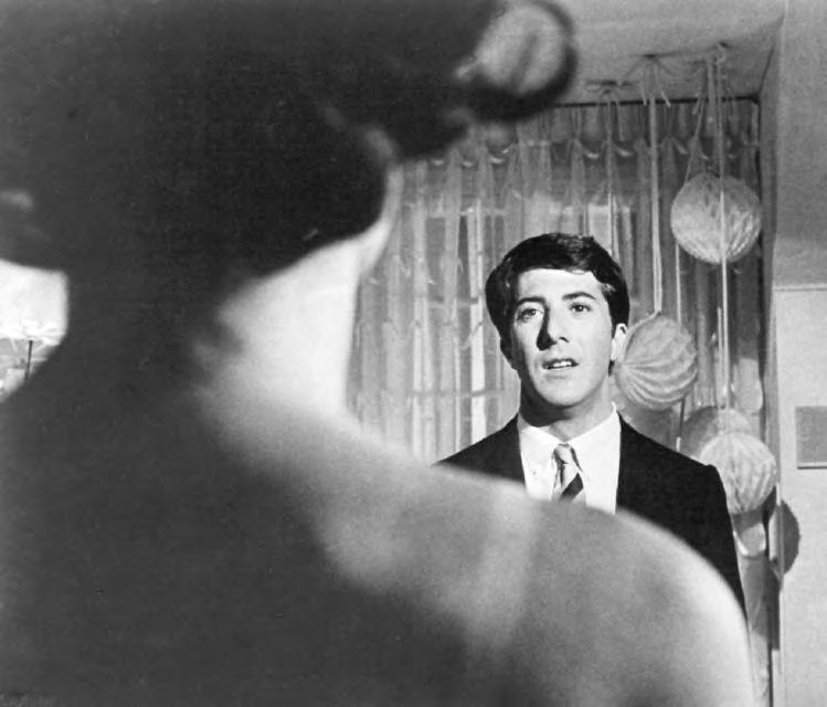 2 19. The Graduate (U.S.A., 1967), with Anne Bancroft and Dustin Hoffman, directed by Mike Nichols.
