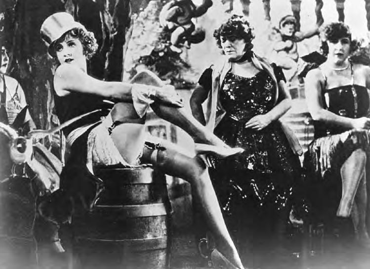 2 24a. The Blue Angel (Germany, 1930), with Marlene Dietrich (left foreground), directed by Josef von Sternberg. (Janus Films) Density of texture refers to the amount of visual detail in a picture.