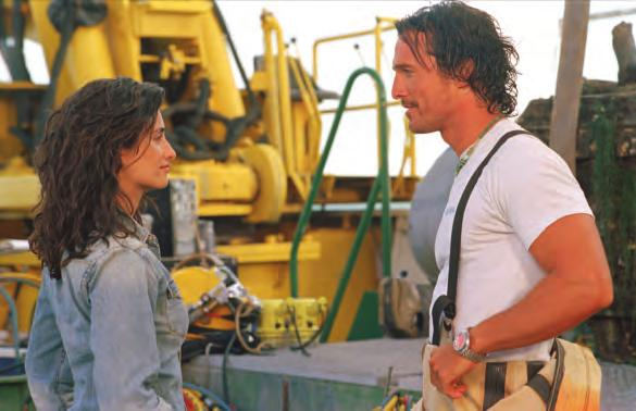 Mise en Scène 81 2 27. Sahara (U.S.A., 2005), with Penélope Cruz and Matthew McConaughey, directed by Breck Eisner.