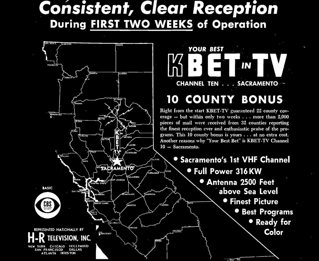 "Another reasons why ""Your Best Bet"" is KBET -TV Channel 10 - Sacramento."