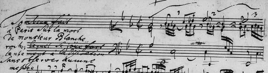 [Yet that is precisely what is dictated by the rubrics in two manuscript copies of Froberger s music.