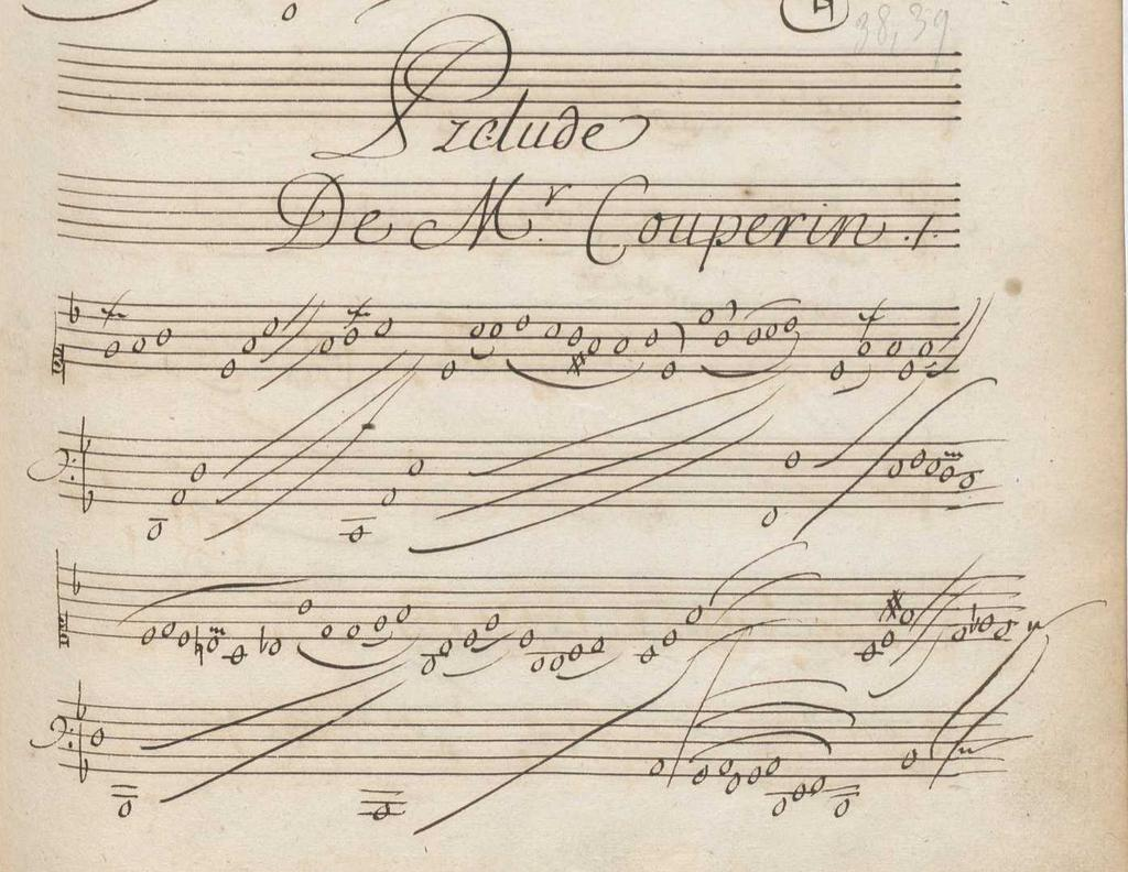 Example 16. Louis (?) Couperin, Prélude in F (G.