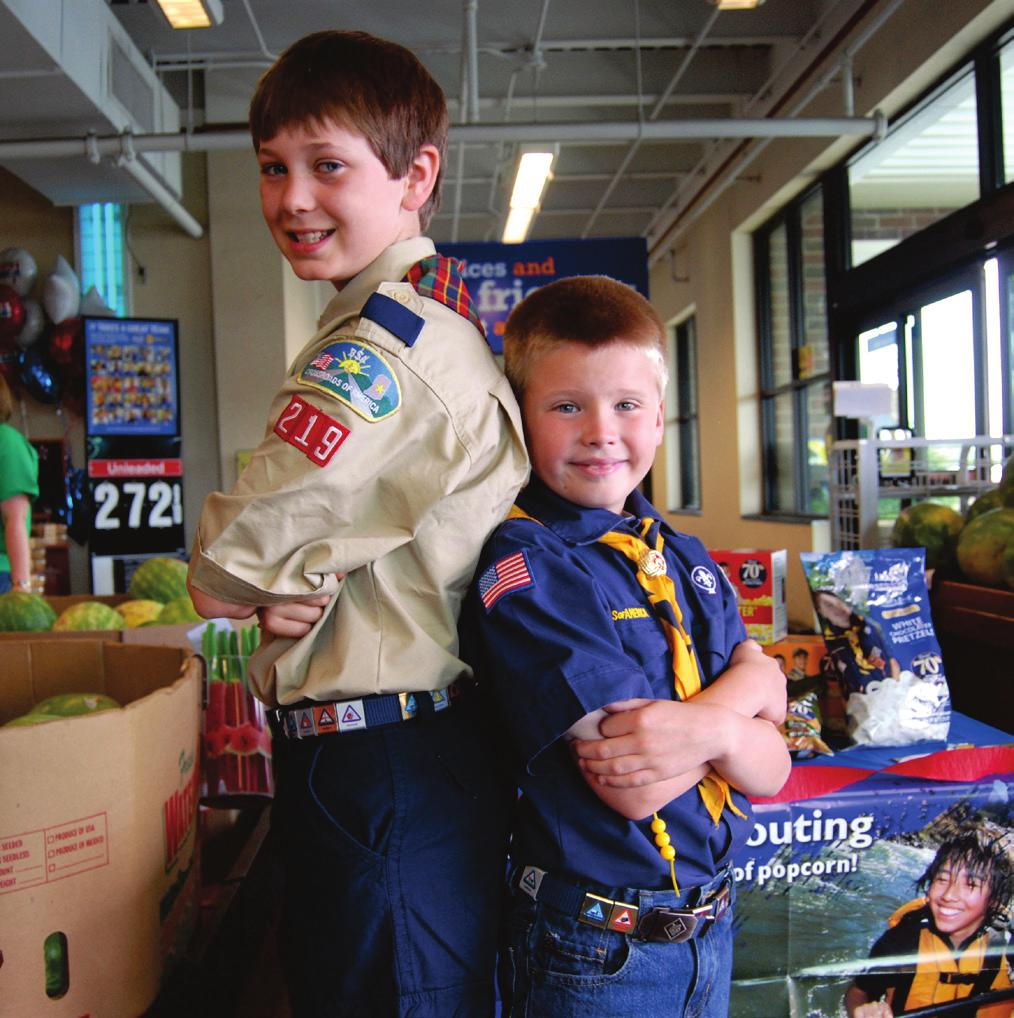 ONLINE Average sale per customer: $90 Description: Scouts solicit customers via email or social media. Customers buy popcorn with a Scout s online link or searching for them on www.trails-end.com.