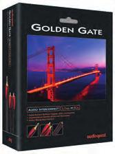 Analog-Audio Interconnect Cables Bridges & Falls Tower Evergreen Golden Gate Big Sur Metal Solid Long-Grain Copper (LGC) Solid Perfect-Surface Copper (PSC) Solid Perfect-Surface Copper+ (PSC+)