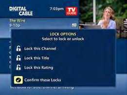 parental controls i-guide provides a Parental Controls feature, which allows you to restrict viewing and purchases of TV programs and